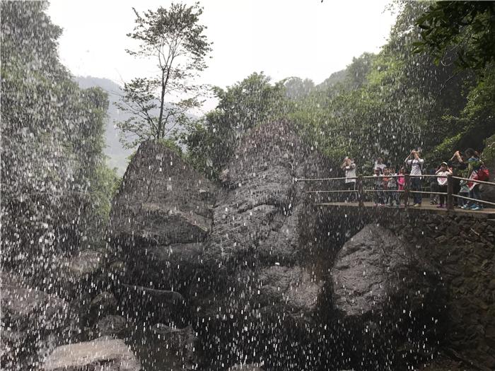 永泰百漈沟水帘瀑布