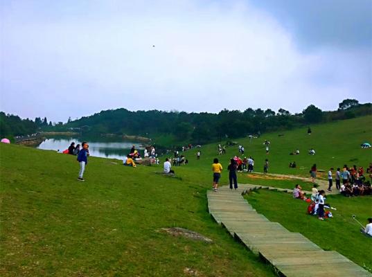 永泰云顶山风景区住QQ蛋居赏天池草场看瀑布,周边美拍好去处