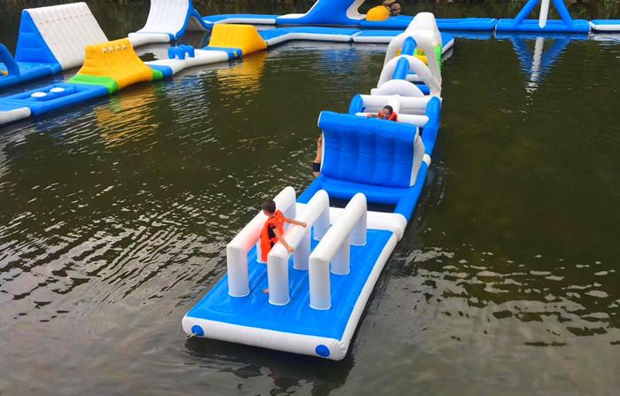 旗山水磨坊水上冲关