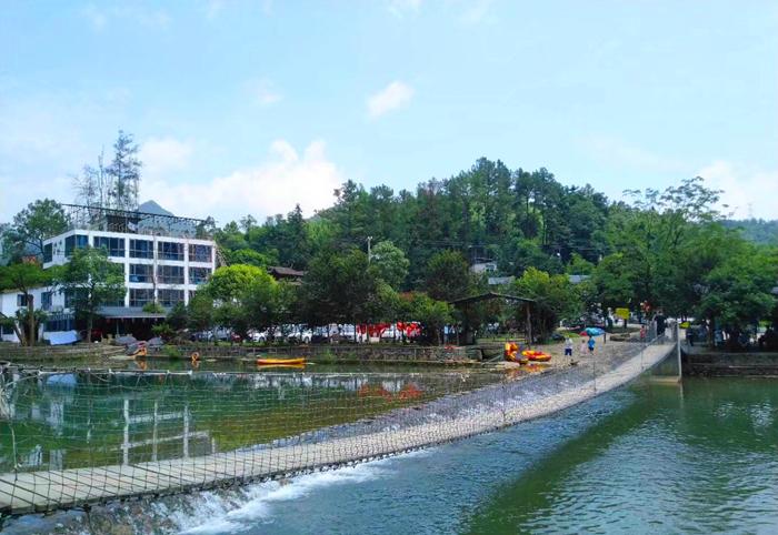 水磨坊索桥