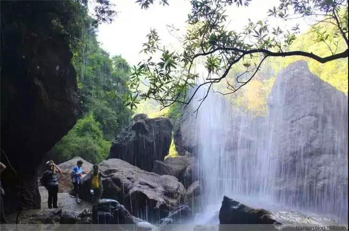 永泰百漈沟瀑布群