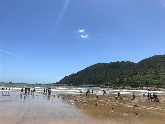 福鼎小白鹭度假村 沙滩