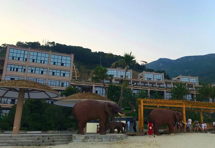 连江定海湾山海运动小镇